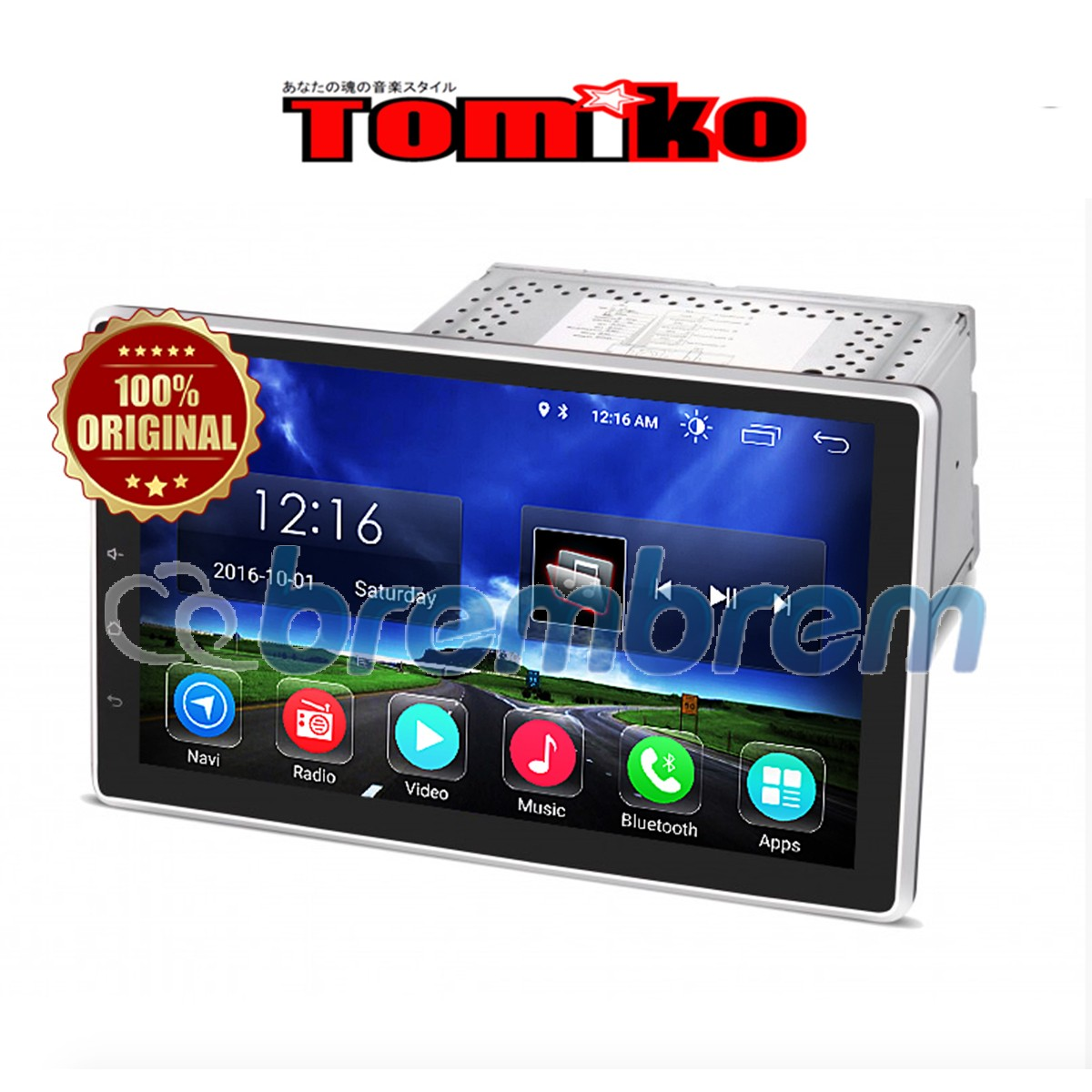 TOMIKO ANDROID 4G LTE 10 INCH DD 1055 L - HEADUNIT 2 DIN