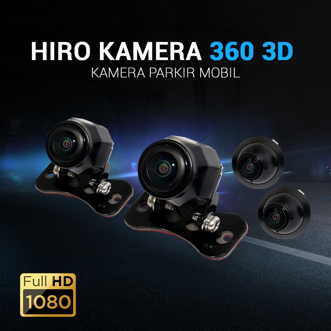 KAMERA MUNDUR HIRO 360 3D FULL HD