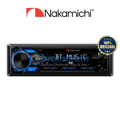 NAKAMICHI NQ 711B - HEAD UNIT 1DIN BLUETOOTH
