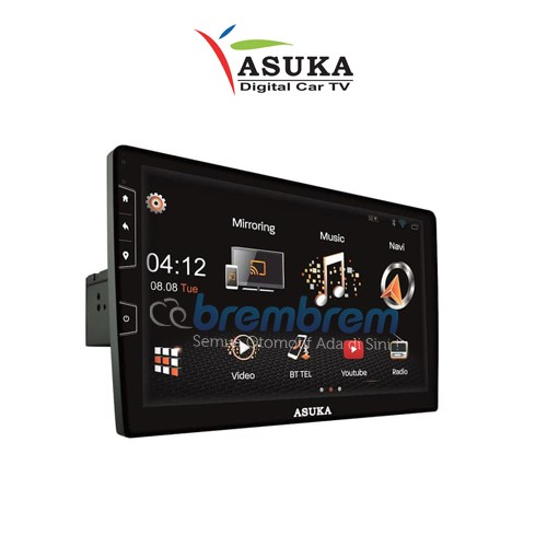 ASUKA PTA 310TV - HEAD UNIT 2DIN ANDROID UNIVERSAL 10 INCH / MIRACAST