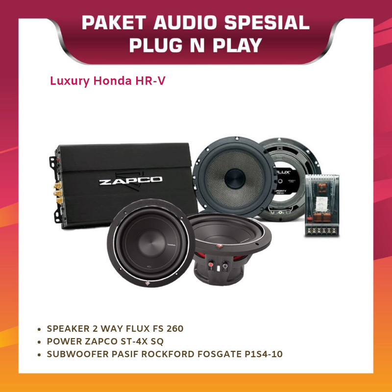 PAKET AUDIO OEM LUXURY HONDA HR-V