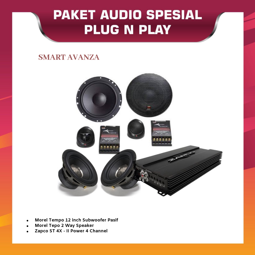 PAKET AUDIO OEM SMART TOYOTA AVANZA