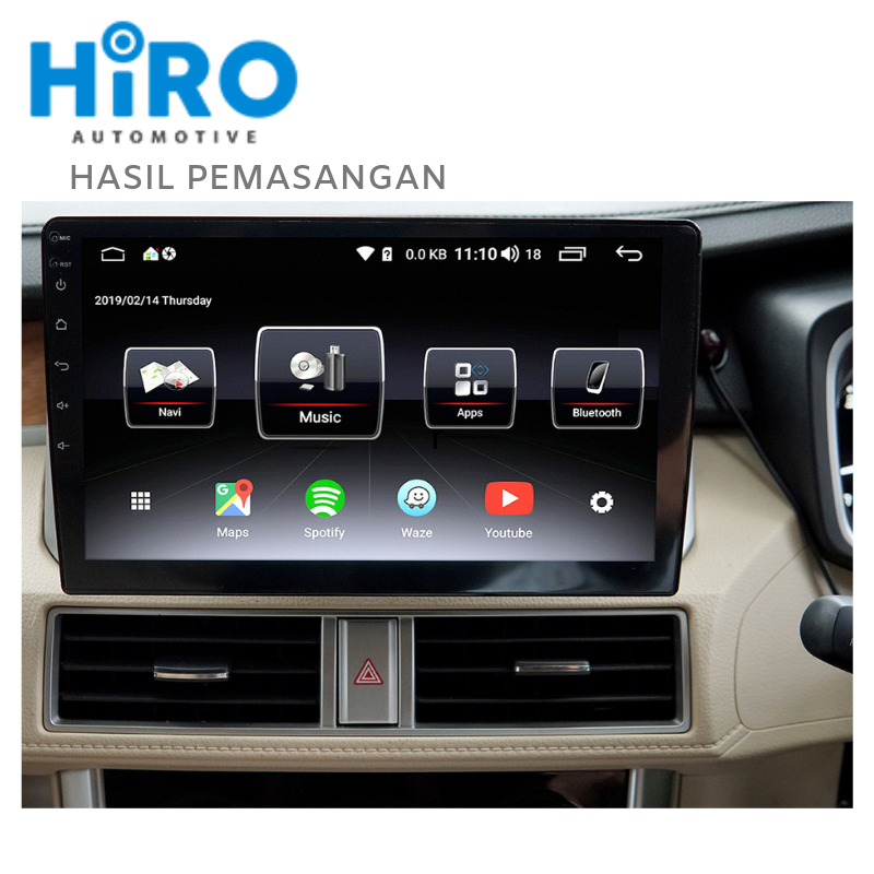HIRO ALPHA 10 INCH - ANDROID MIRRORING iOS ANDROID - HIGH QUALITY PRODUCT