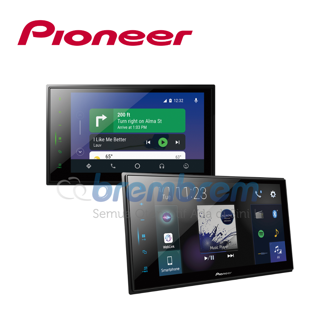 PIONEER DMH ZS8250BT - HEADUNIT 2DIN 8 INCH HIGH END SERIES