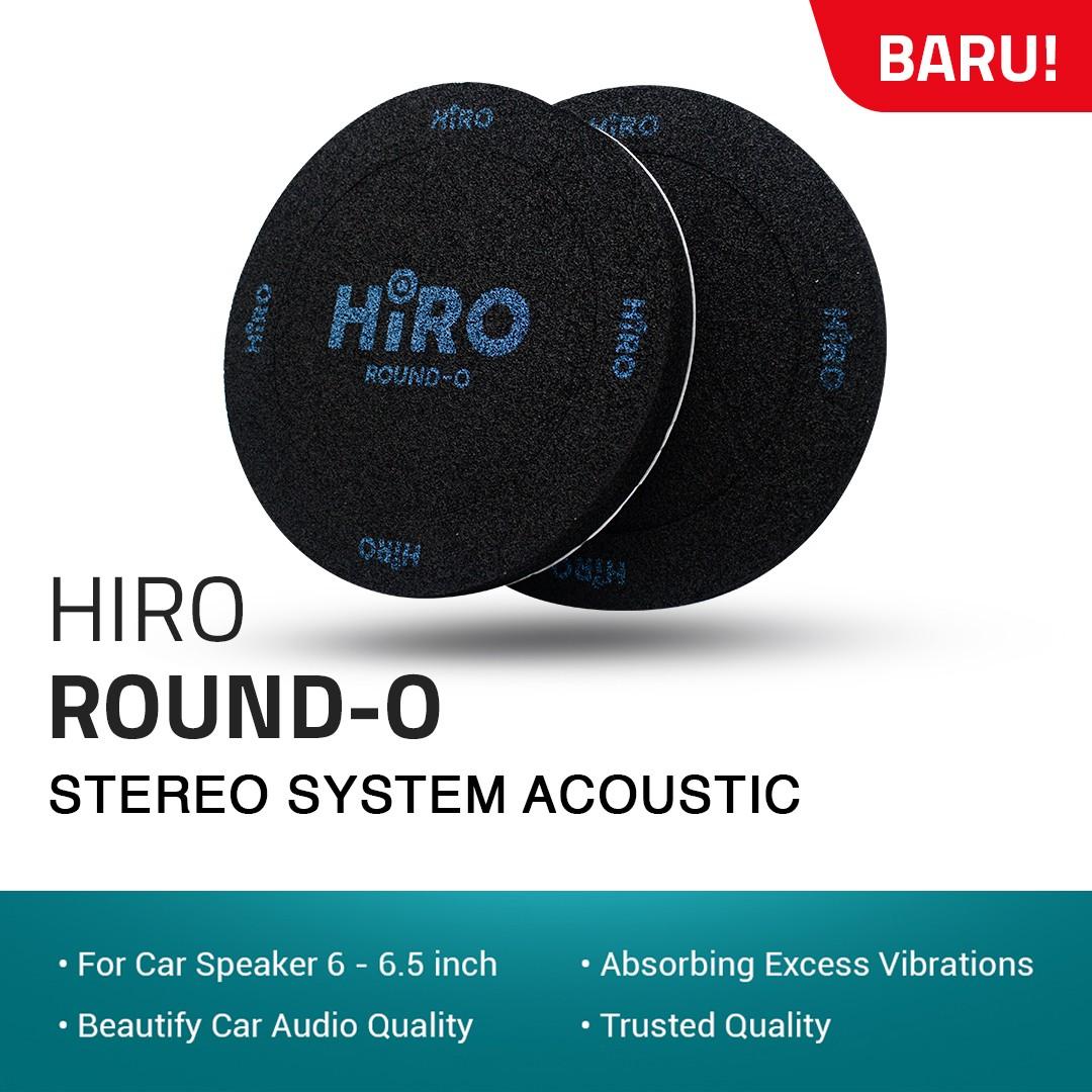 HIRO ROUND O - PEREDAM SPEAKER 6 - 6.5 INCH