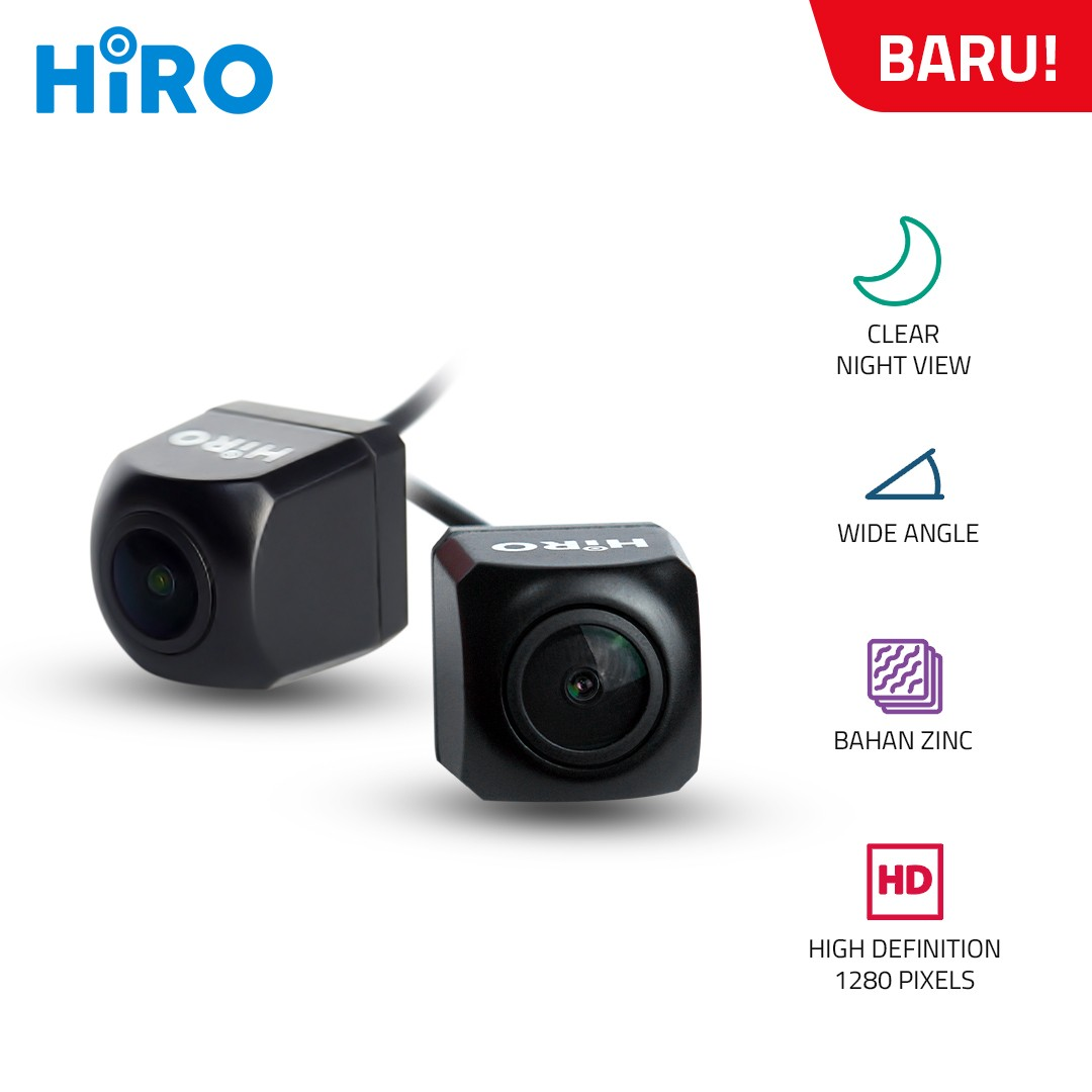 HIRO HD CHIP 1280 WIDE ANGLE - KAMERA MUNDUR