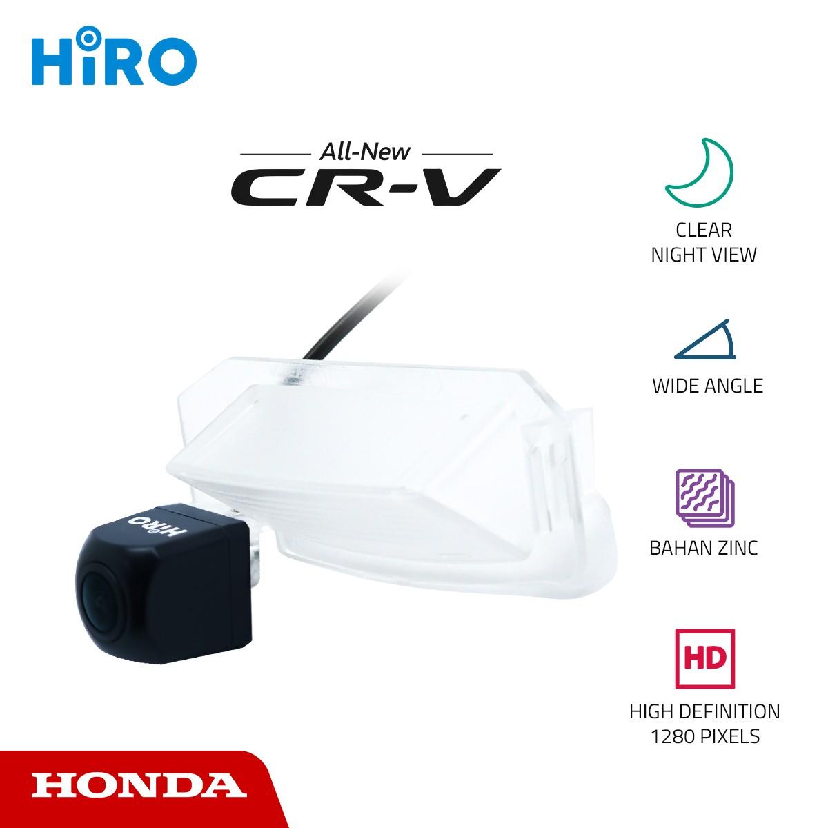 HIRO CHIP HD 1280p - KAMERA MUNDUR OEM HONDA CRV