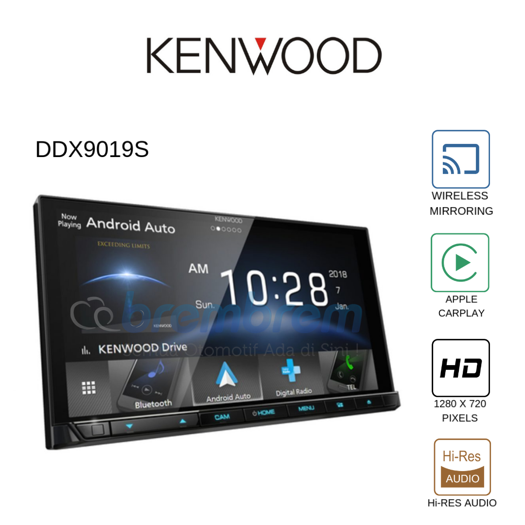 KENWOOD DDX 9019S - HEADUNIT 2DIN HIGH END SERIES