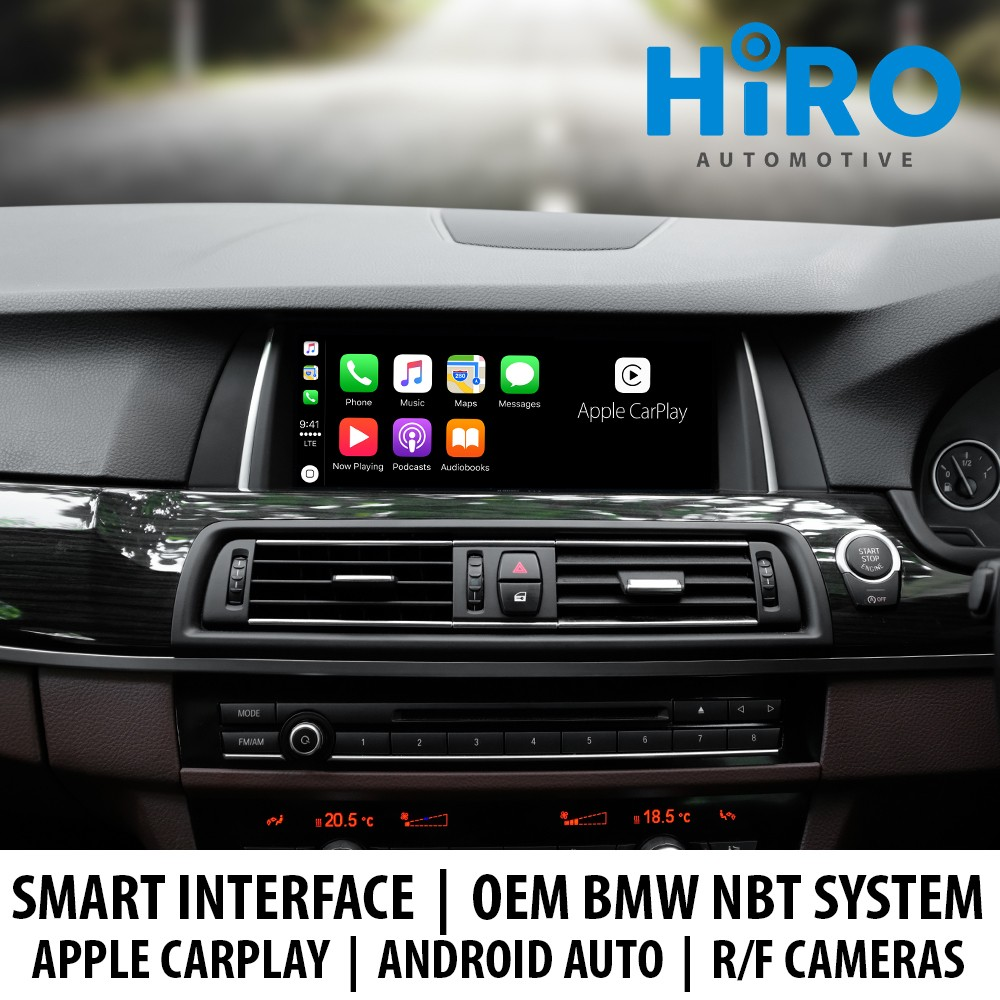 HIRO Smart Interface OEM BMW NBT iDrive System - CarPlay|Android Auto