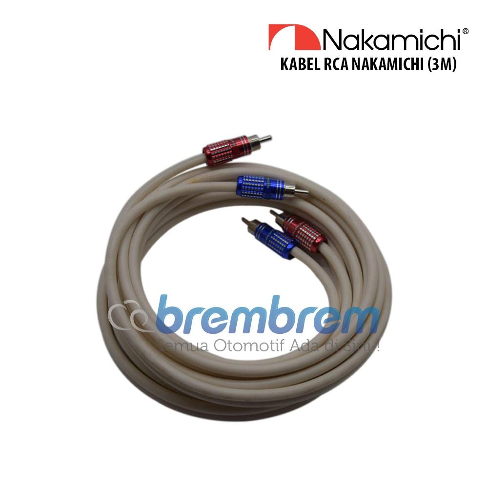 Kabel RCA Nakamichi - Kabel Audio 3 meter