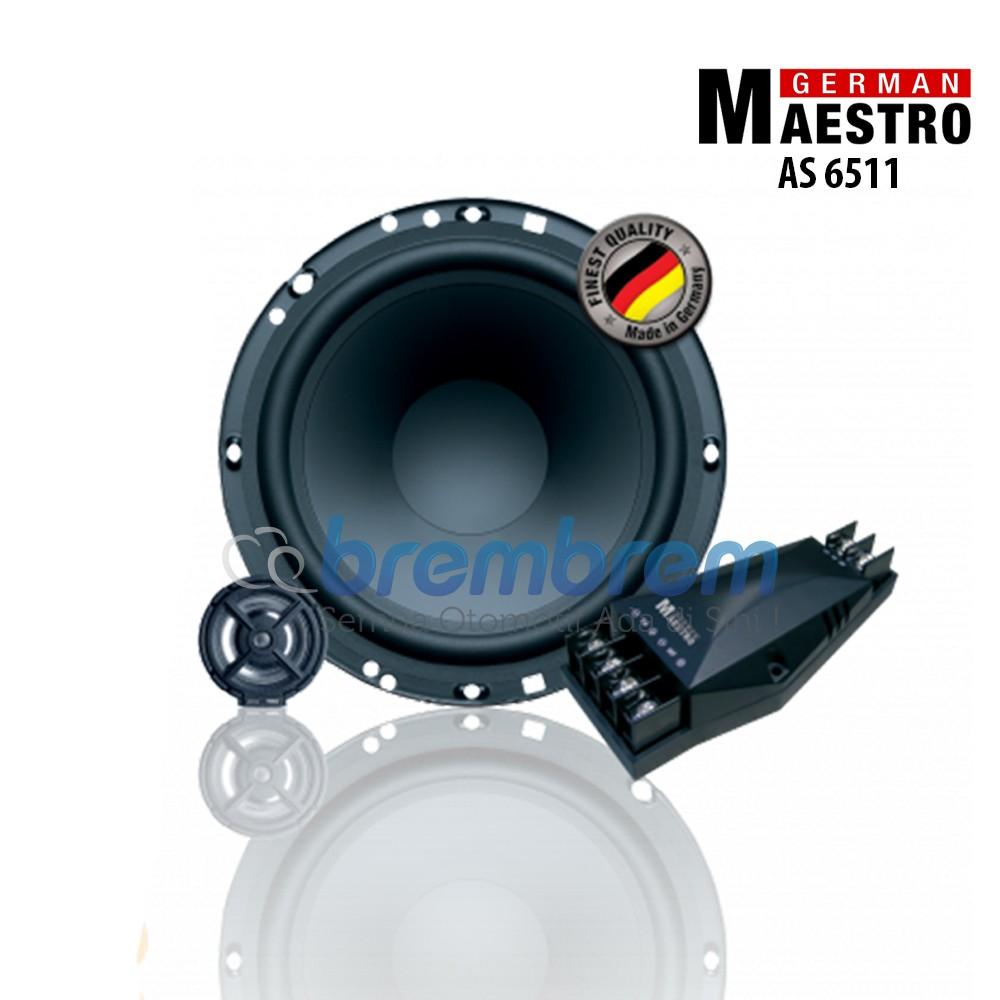 SPEAKER GERMAN MAESTRO AS 6511 - SPEAKER 2 WAY COMPONENT
