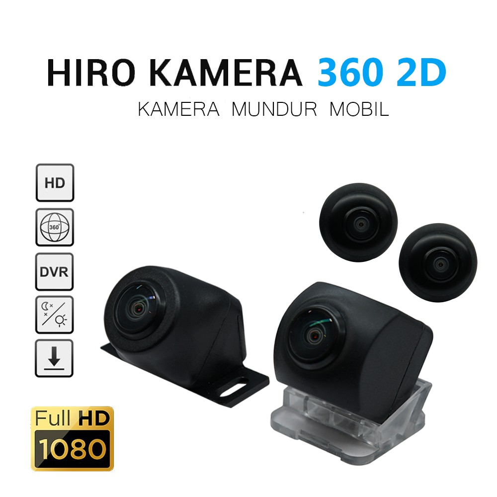HIRO EAGLE 360 KAMERA - SORROUND 2D CAMERA with HD QUALITY [REKOMENDASI]