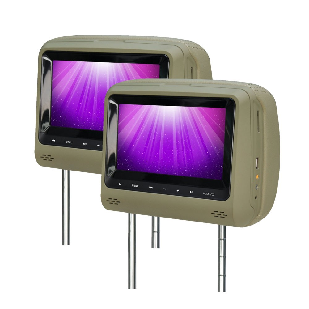 CLEARANCE SALE | ENIGMA EG 829L LED SCREEN BEIGE - HEADREST MONITOR