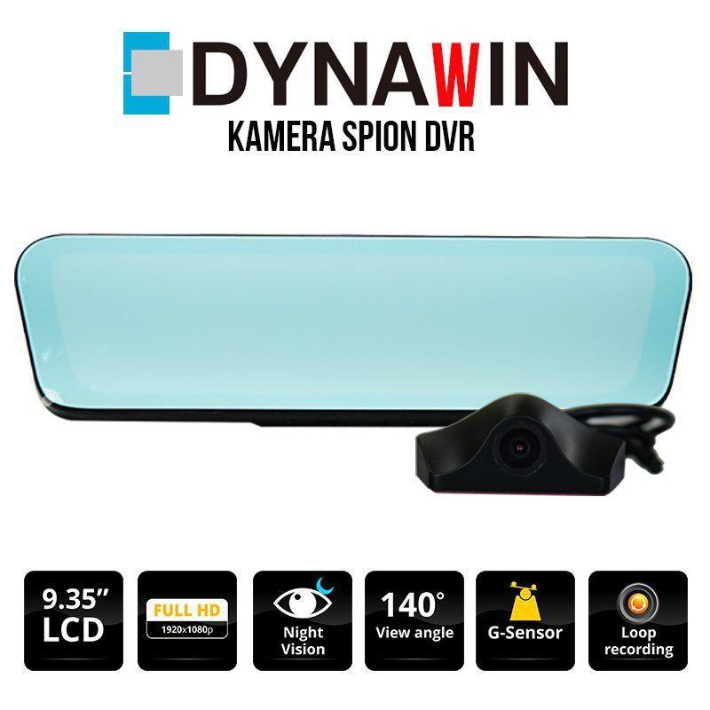 KAMERA DVR DYNAWIN 2 CHANNEL - LCD SPION 9.35 INCH