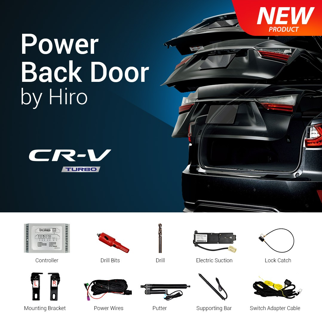 HIRO AUTOMATIC POWER BACK DOOR OEM HONDA CR-V TURBO