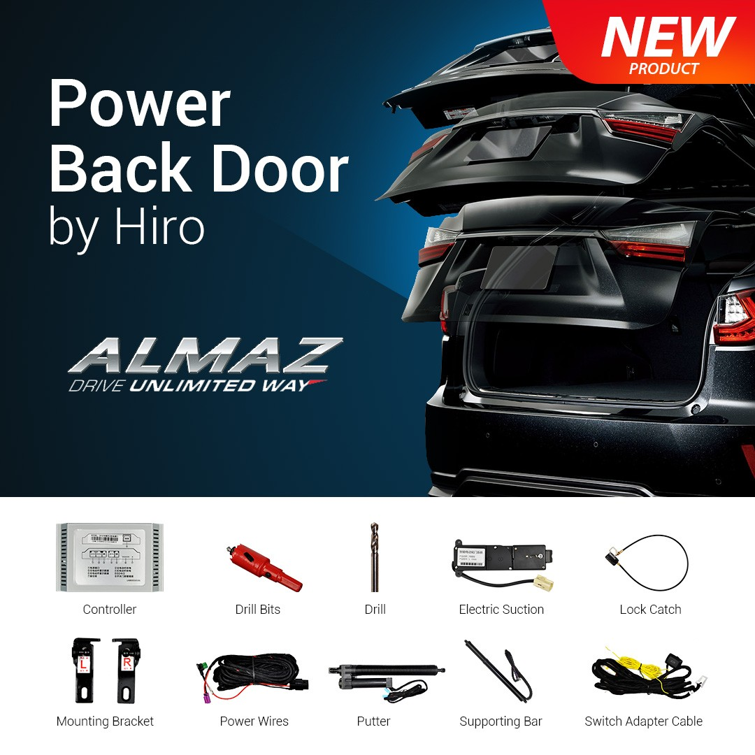 HIRO AUTOMATIC POWER BACK DOOR OEM WULING ALMAZ