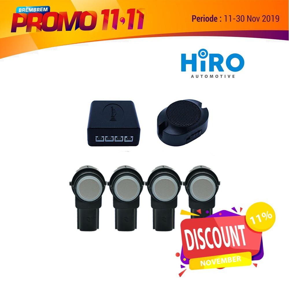 PROMO 11.11 HIRO SENSOR PARKIR SLIM (HITAM)
