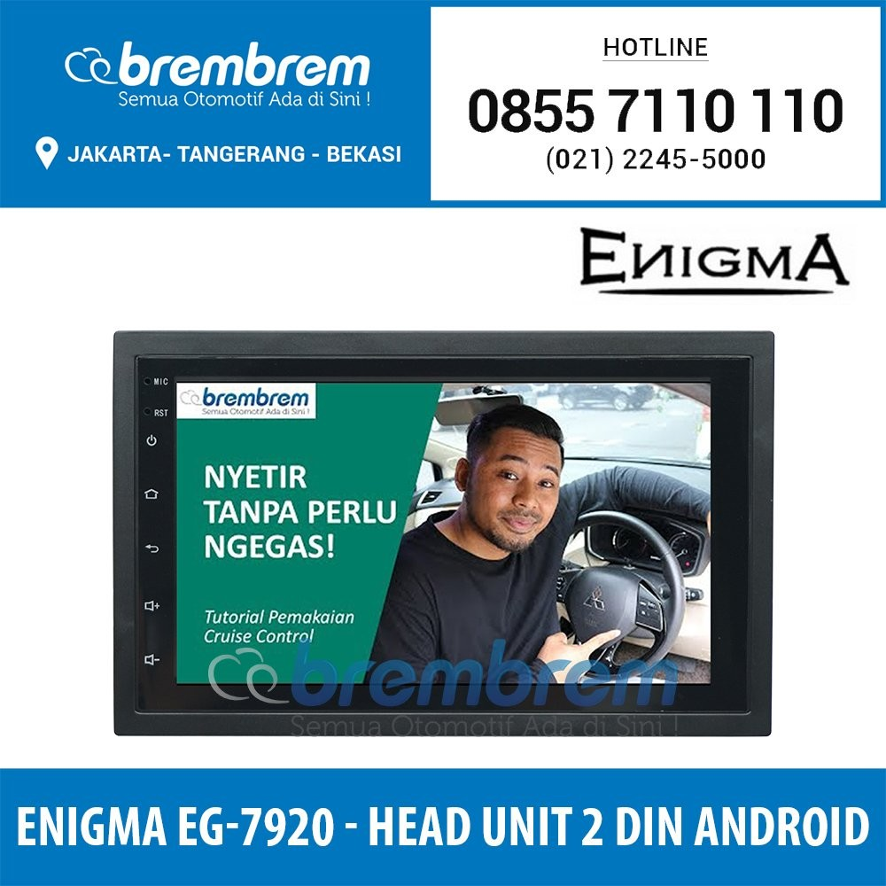 ENIQMA EG 7920 - HEAD UNIT 2DIN ANDROID UNIVERSAL 7 INCH