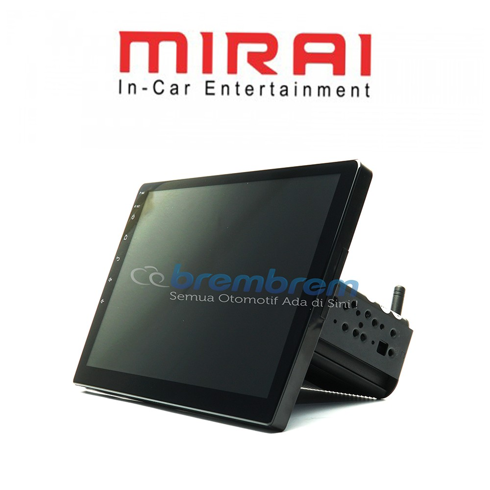 MIRAI MR 1032 - HEAD UNIT 1DIN ANDROID 10.1 INCH UNIVERSAL