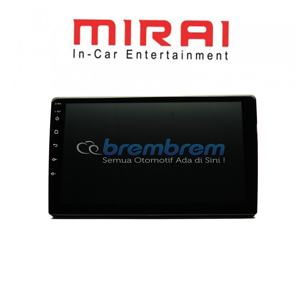 MIRAI MR 9032 - HEAD UNIT 1DIN ANDROID 9 INCH UNIVERSAL [REKOMENDASI]