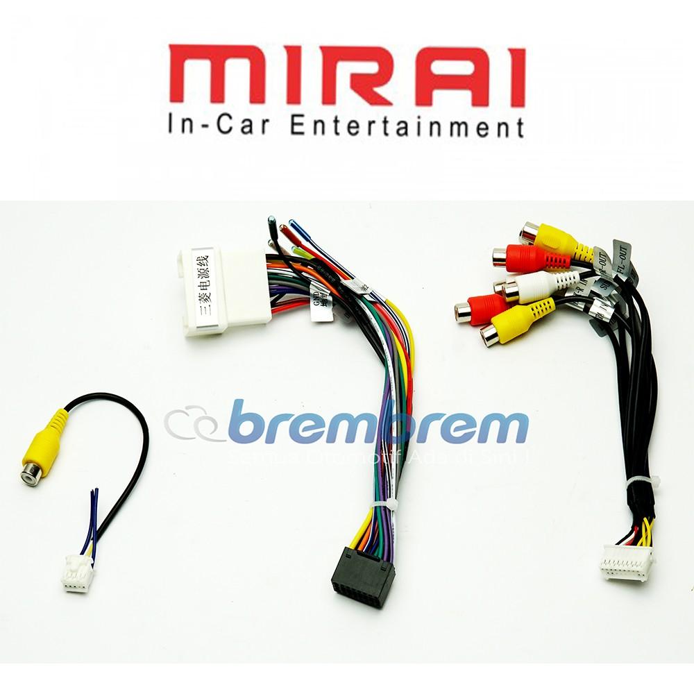 MIRAI MR XP9 - HEAD UNIT ANDROID 9 INCH OEM MITSUBISHI XPANDER