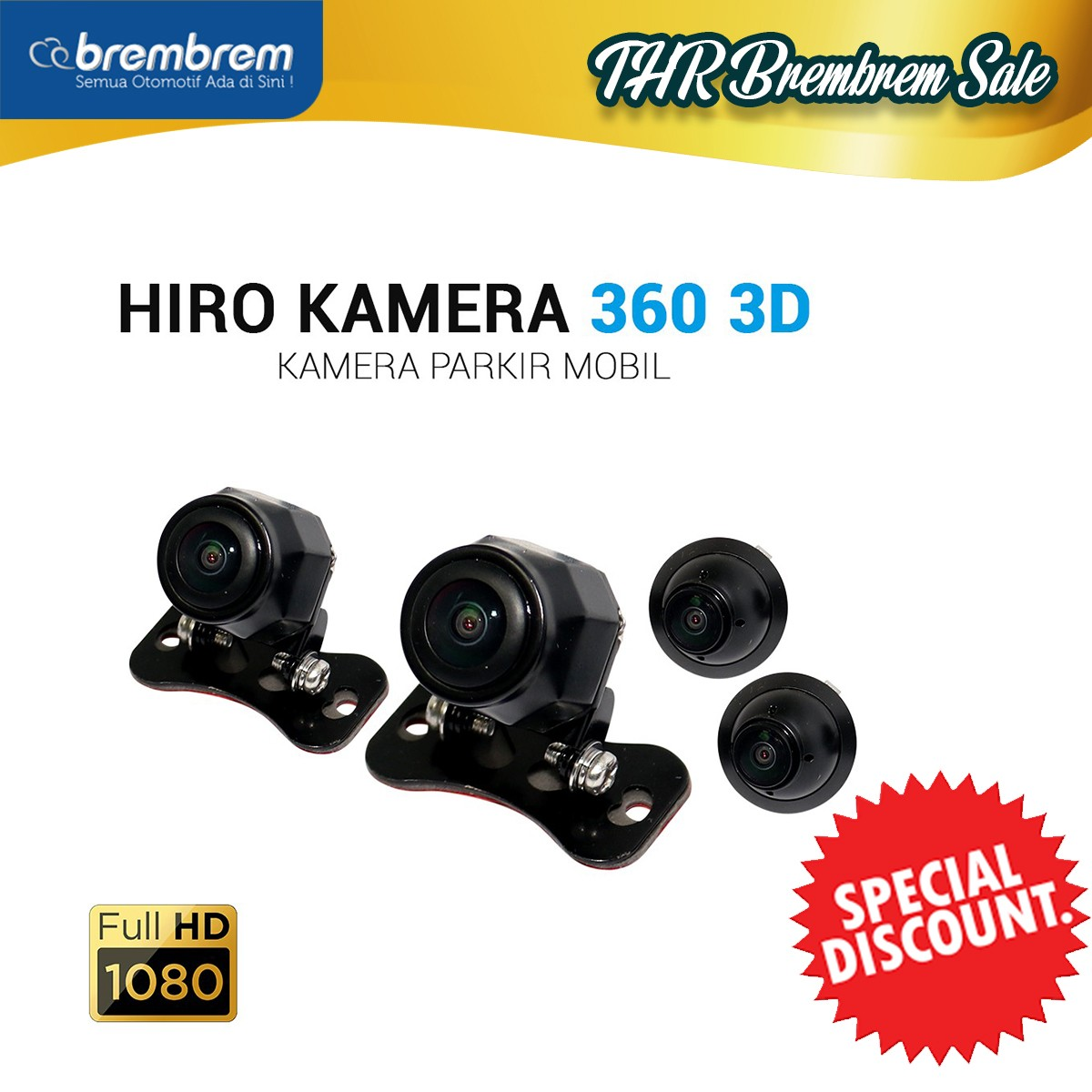 [THR BREMBREM] HIRO EAGLE 360 KAMERA - SORROUND 3D CAMERA with HD QUALITY