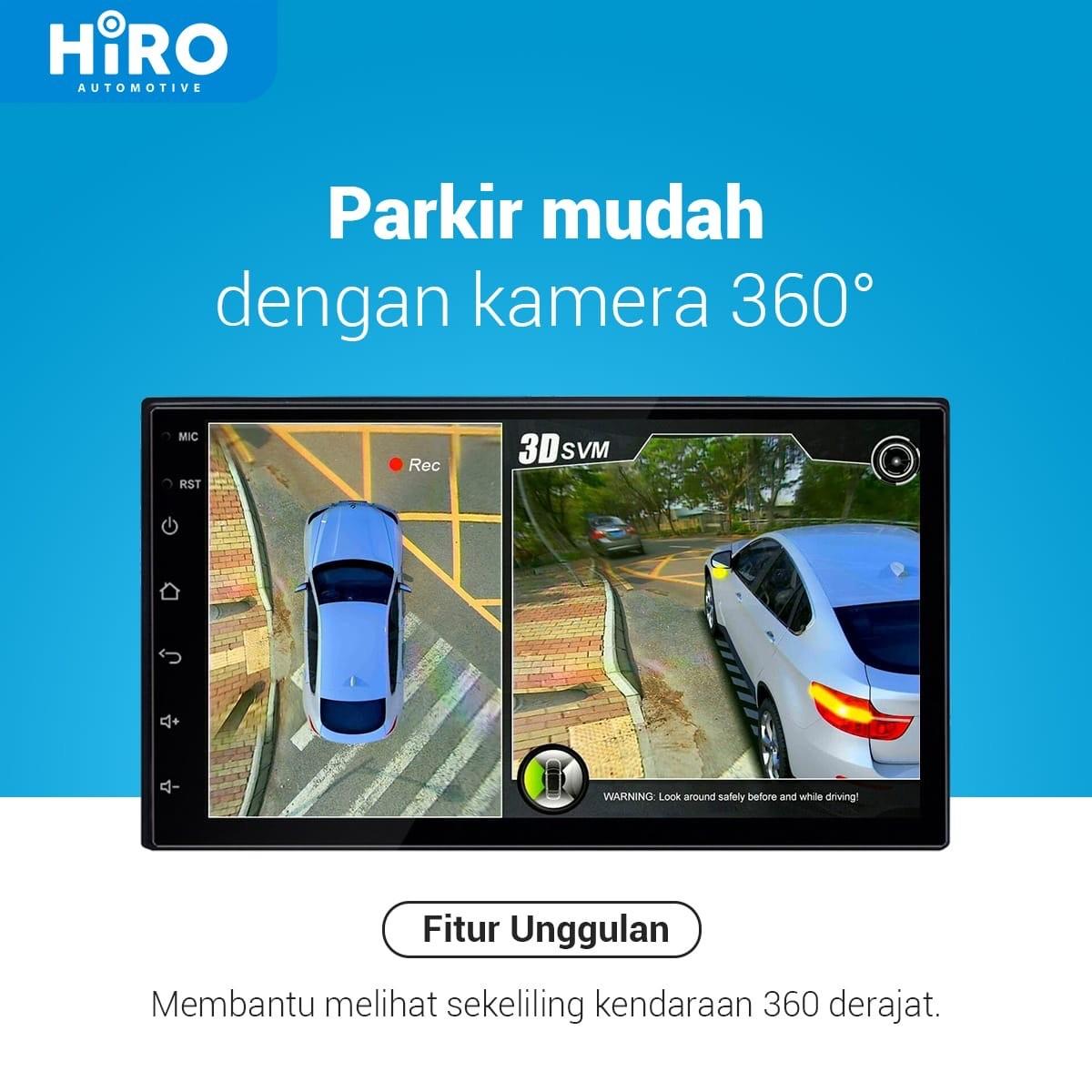 HIRO EAGLE 360 KAMERA - SORROUND 3D CAMERA with HD QUALITY [REKOMENDASI]