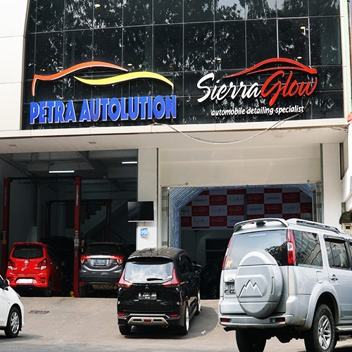 SIERRA GLOW - NANO COATING BLUE FLAME SG6 - HONDA CITY