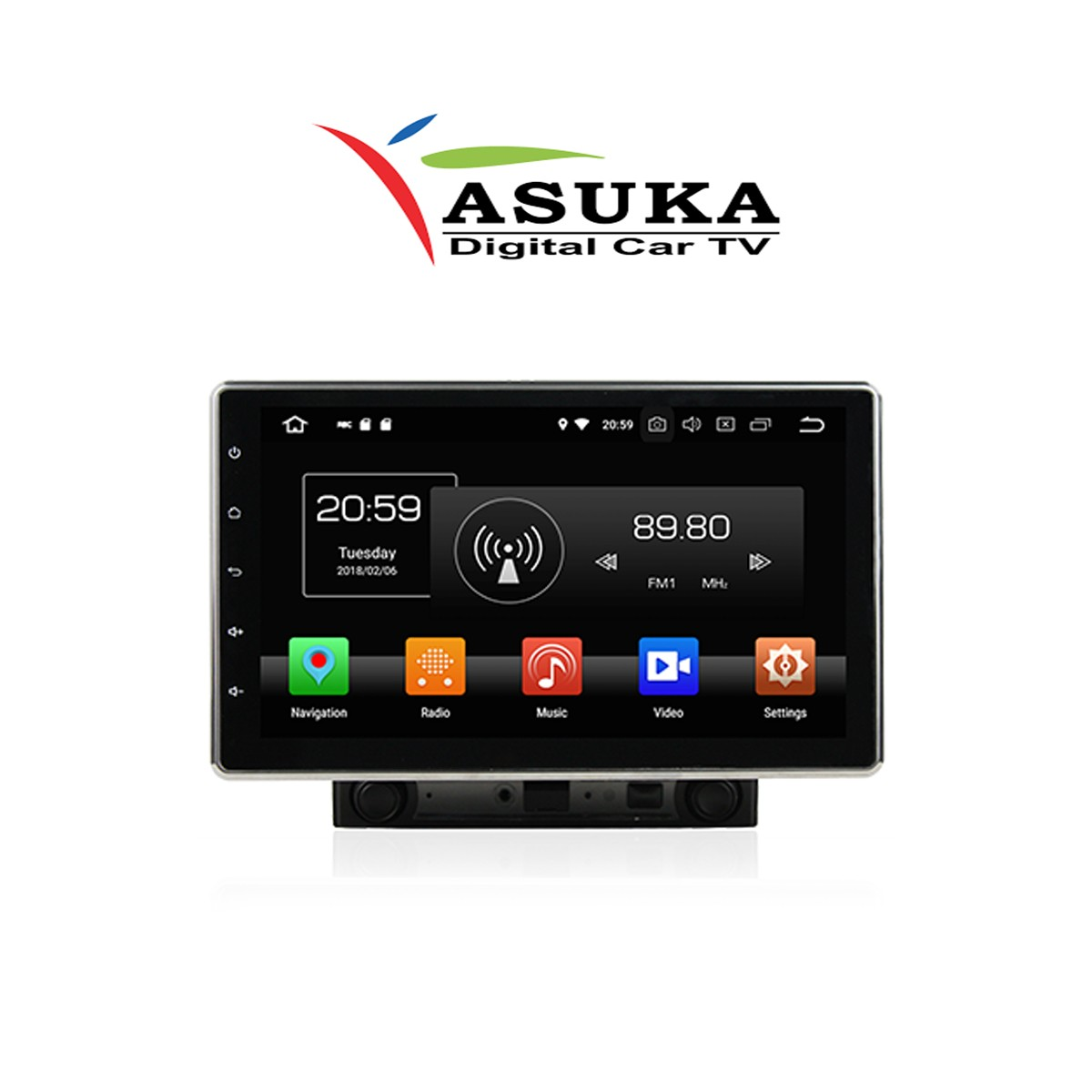 ASUKA AK 2000 - HEAD UNIT 2DIN 10 INCH ANDROID UNIVERSAL