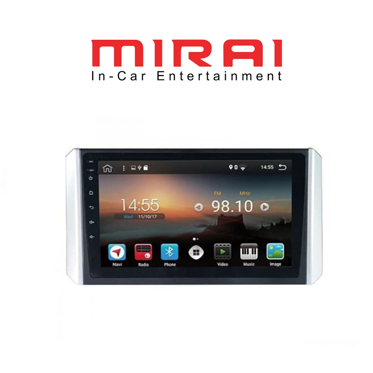 MIRAI MR XP9 - HEAD UNIT ANDROID 9 INCH OEM MITSUBISHI XPANDER