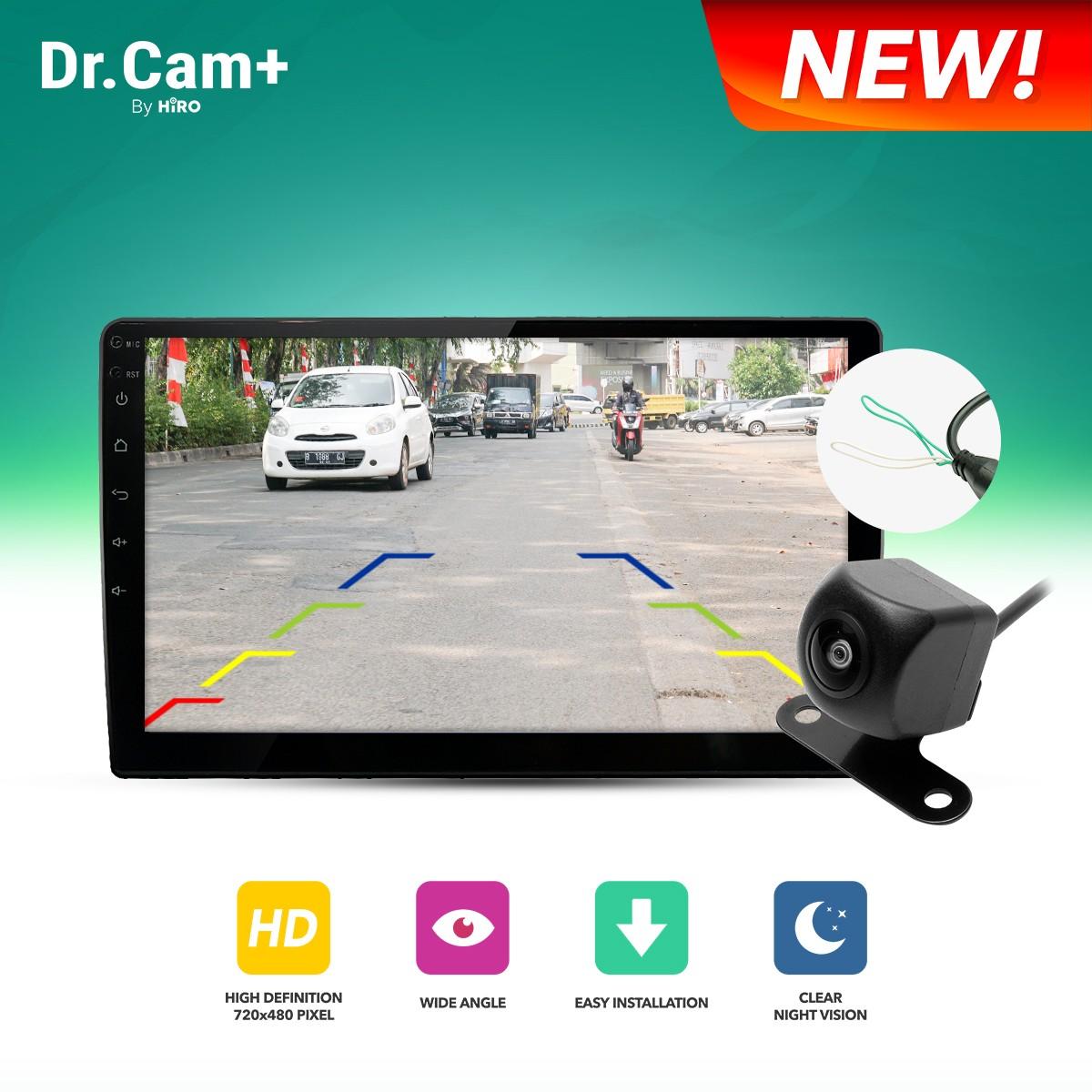 Dr.CAM+ Kamera Mundur 720p