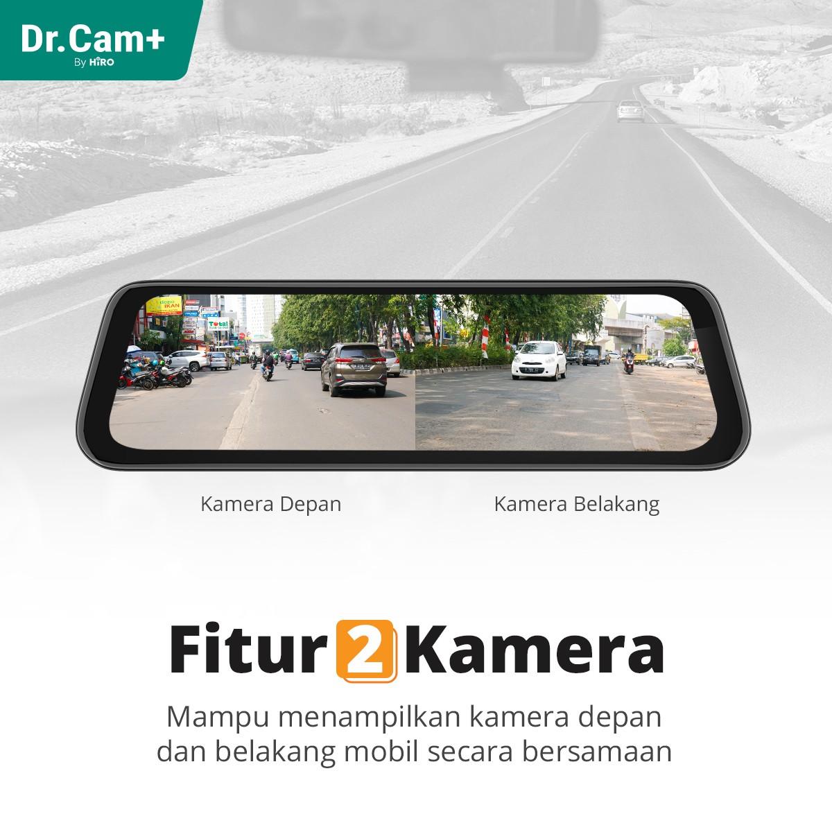 Dr.CAM+ F9 Alpha - Spion DVR Mobil - 2 Channel