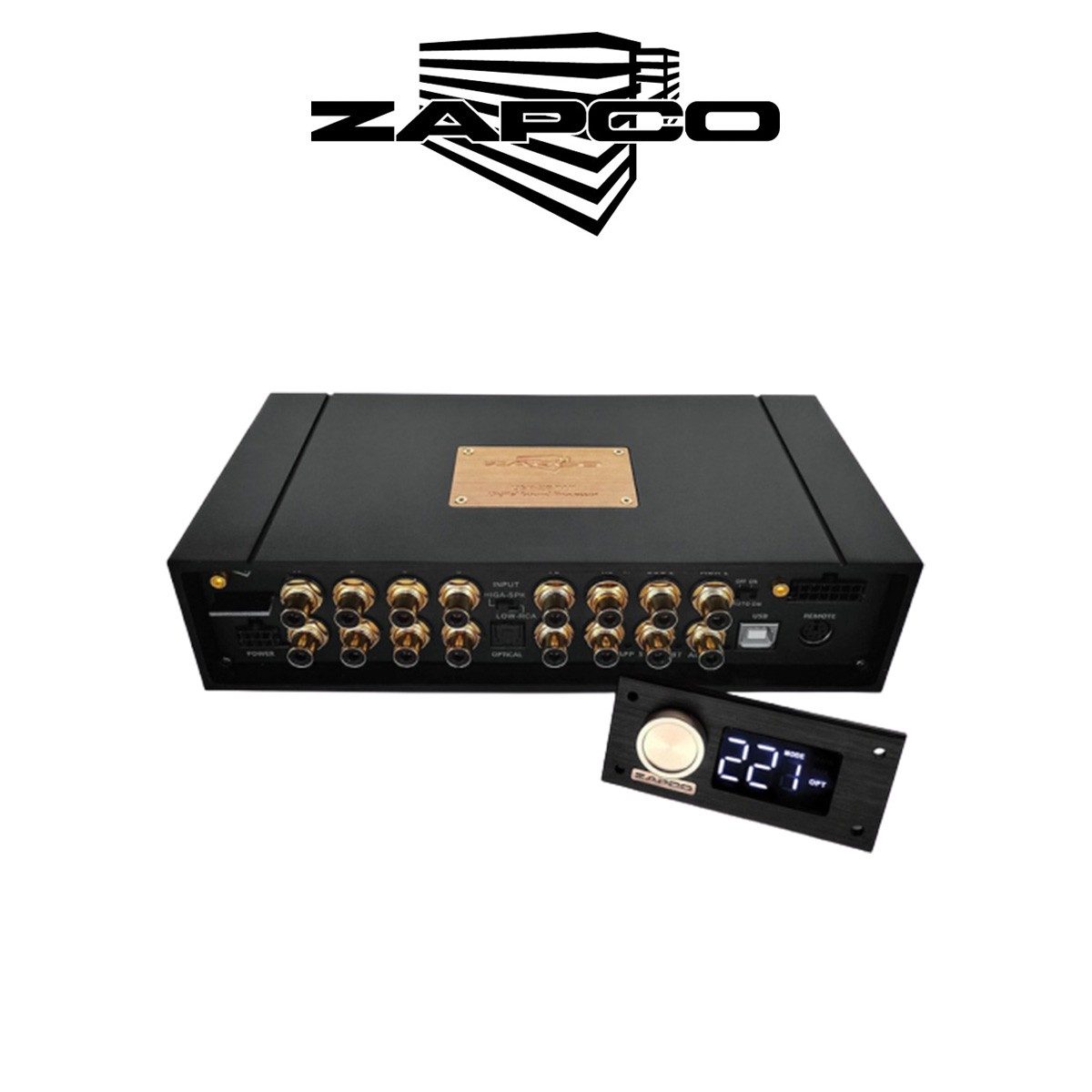 ZAPCO DSP Z8 IV II - PROCESSOR 8 CHANNEL