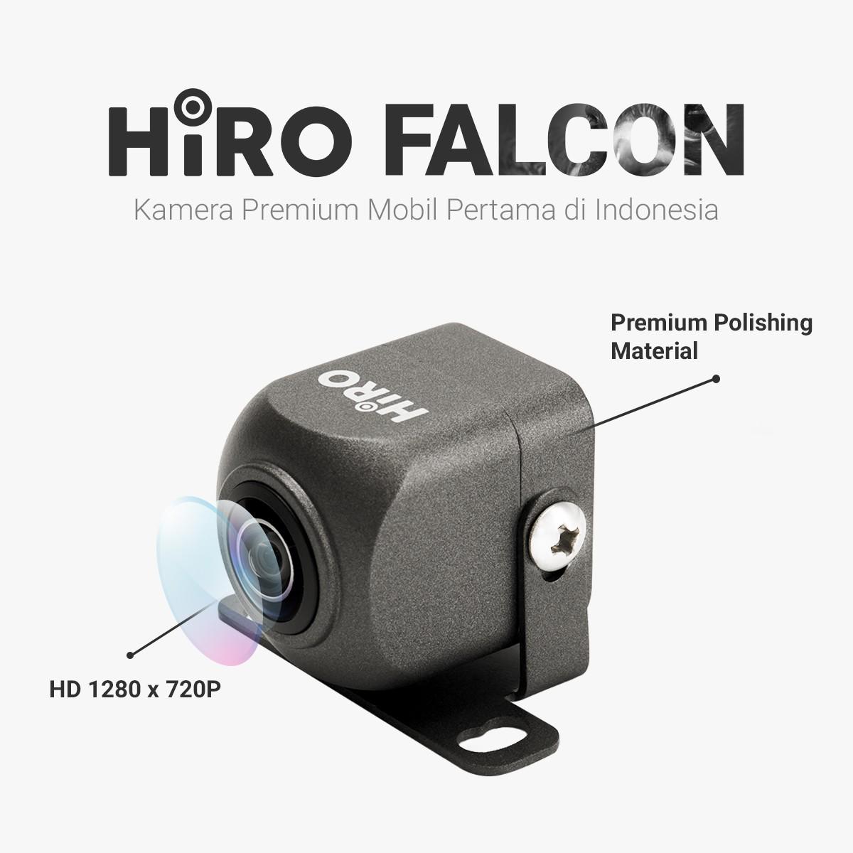 HIRO FALCON - KAMERA MUNDUR PREMIUM HD 1280P