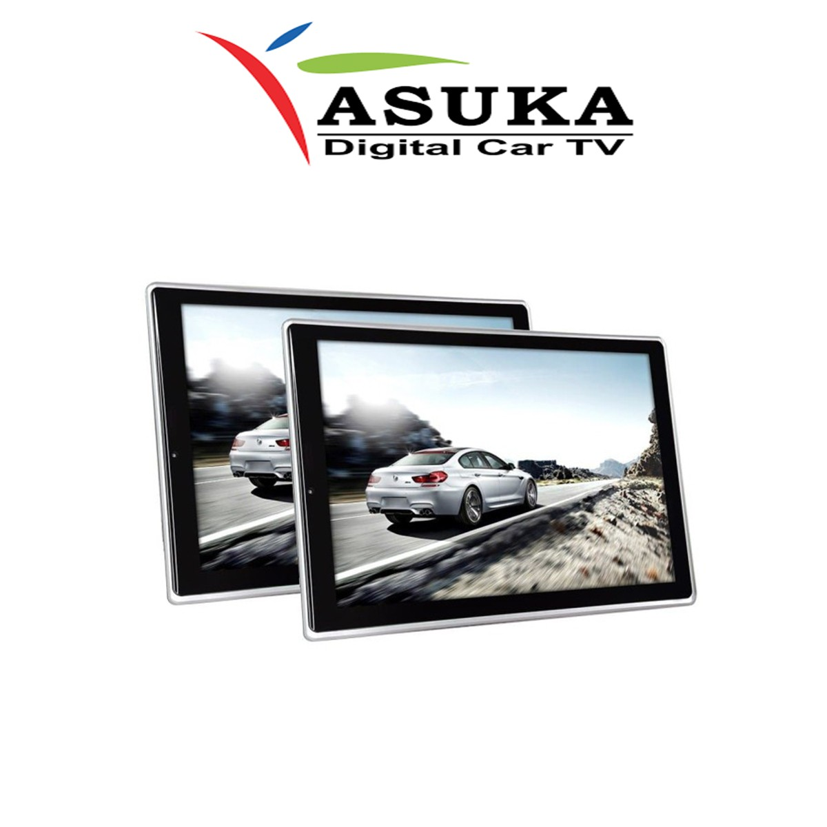 ASUKA AS 1180U - MONITOR HEADREST CLIPON ANDROID 11,8 INCH