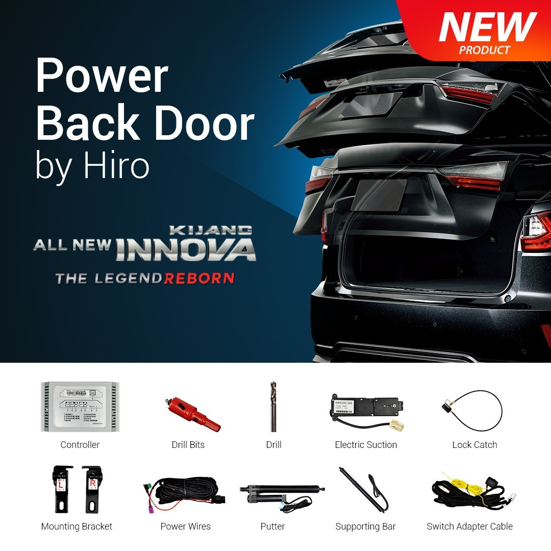 HIRO AUTOMATIC POWER BACK DOOR OEM INNOVA REBORN