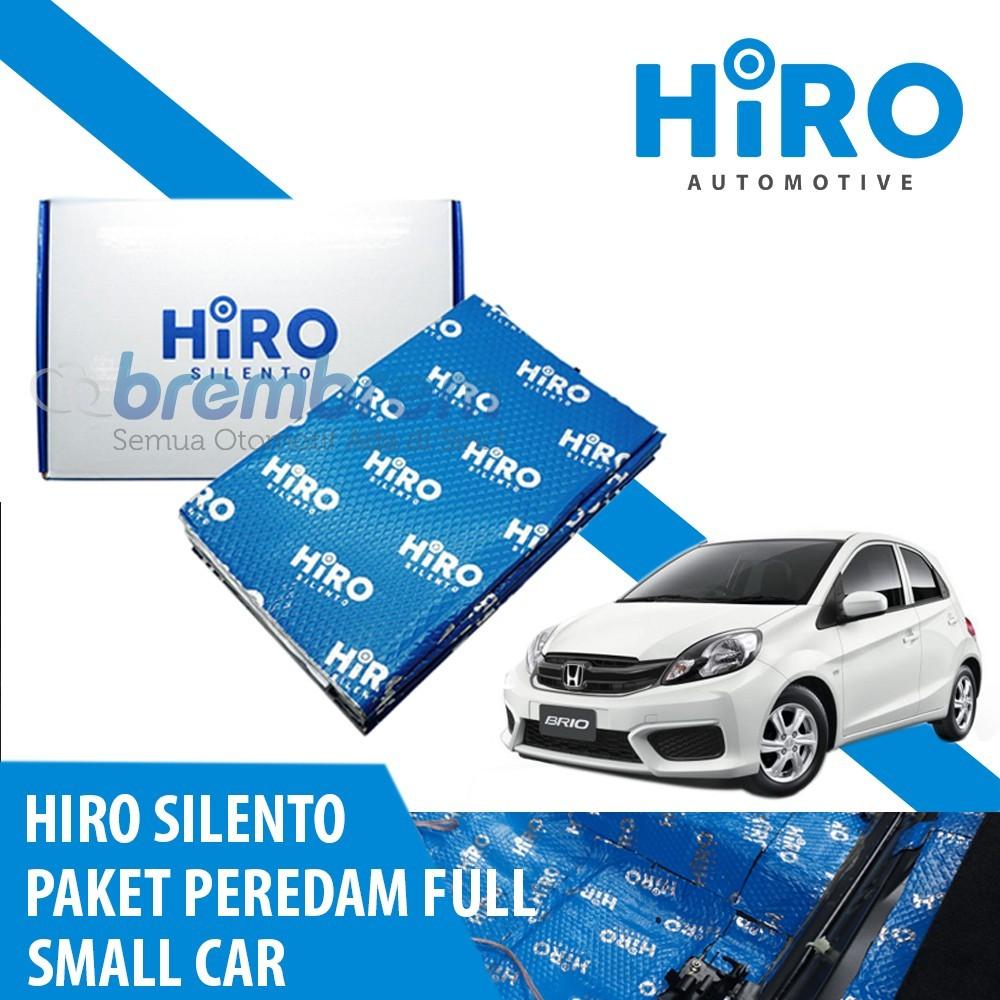 HIRO SILENTO - PAKET PEREDAM FULL - SMALL CAR