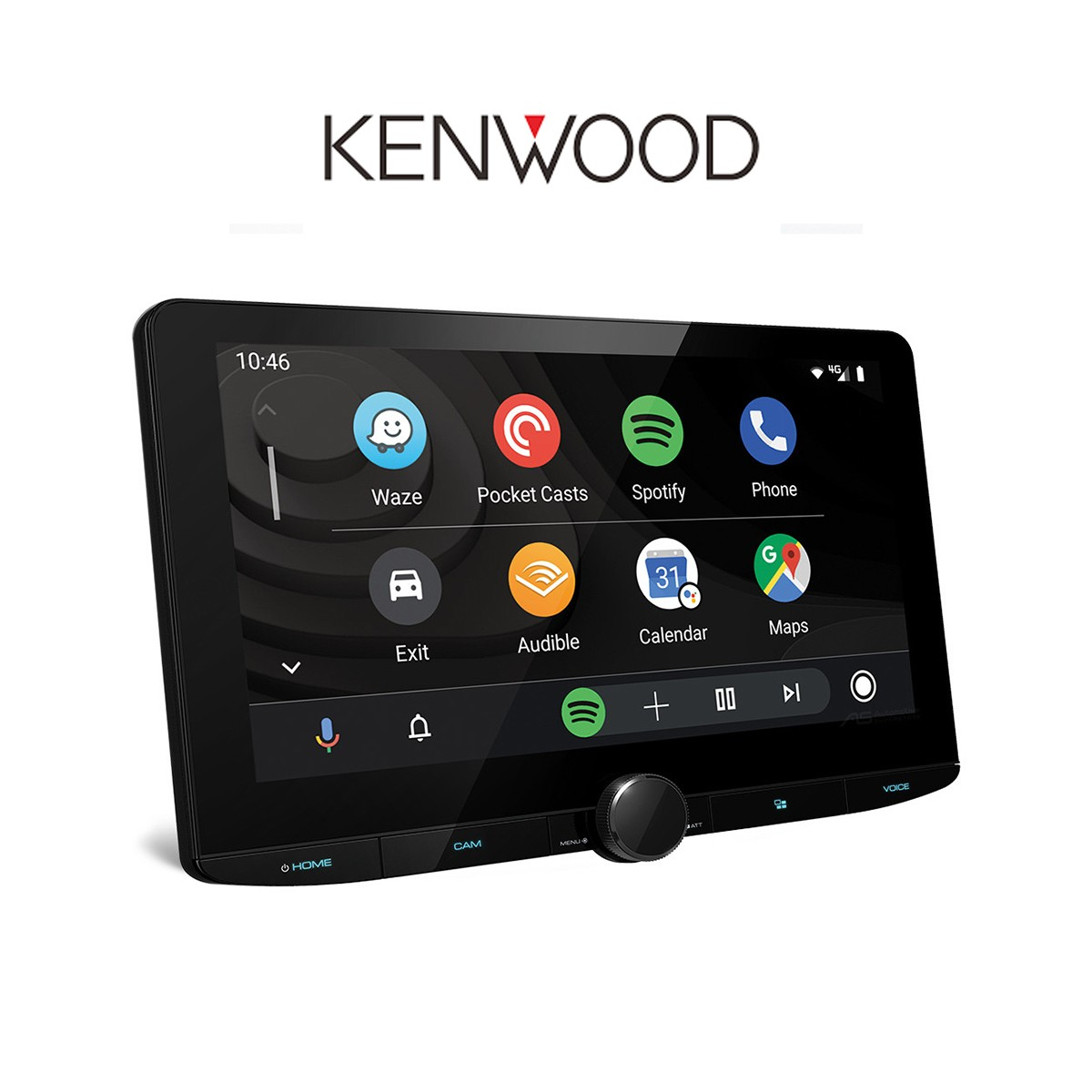 Kenwood DMX 9720XDS - Headunit 2 Din 10.1 Inchi HD Display & Hi Res