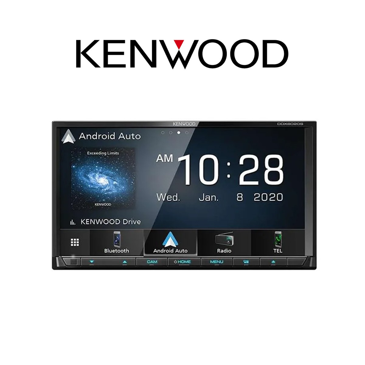 KENWOOD DDX8020S - HEADUNIT 2 DIN UNIVERSAL