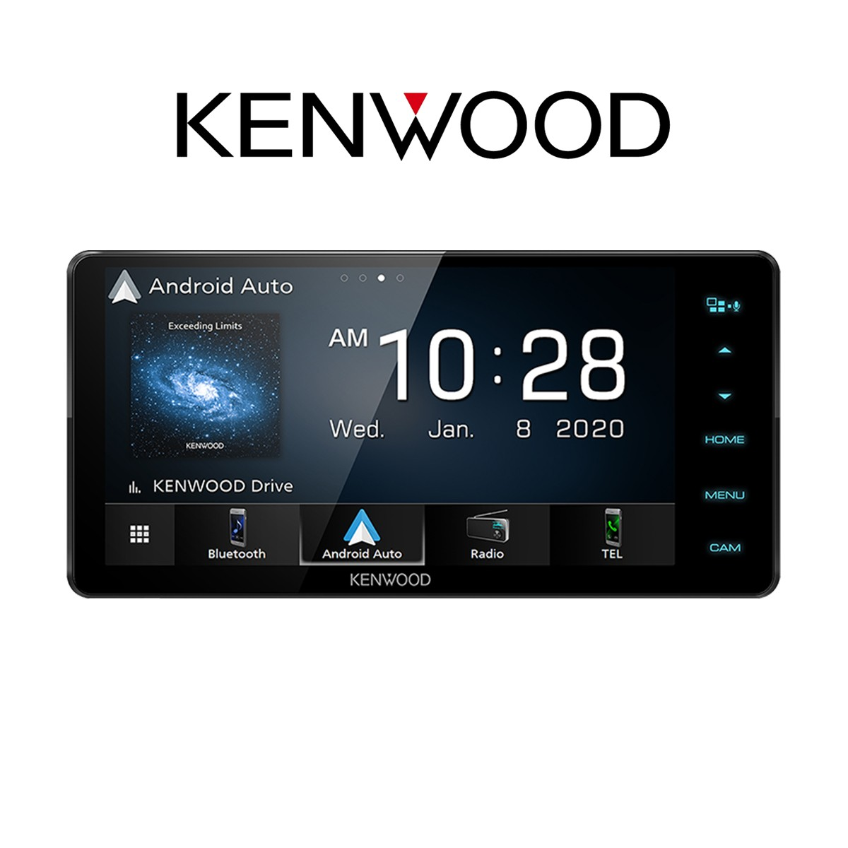 KENWOOD DDX820WS - HEADUNIT 2 DIN WIDE
