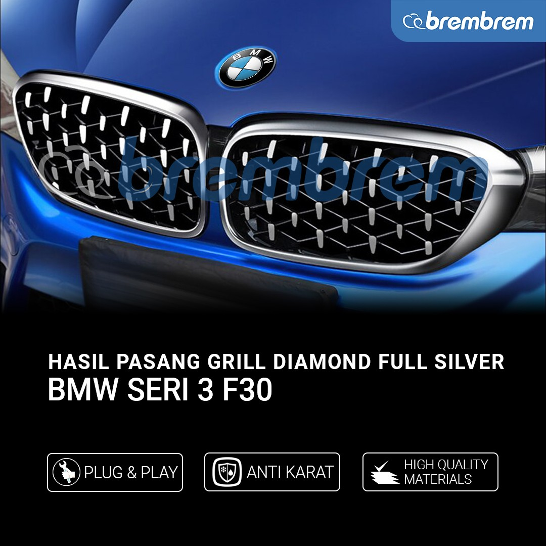 GRILL DIAMOND BMW SERI 3 F30