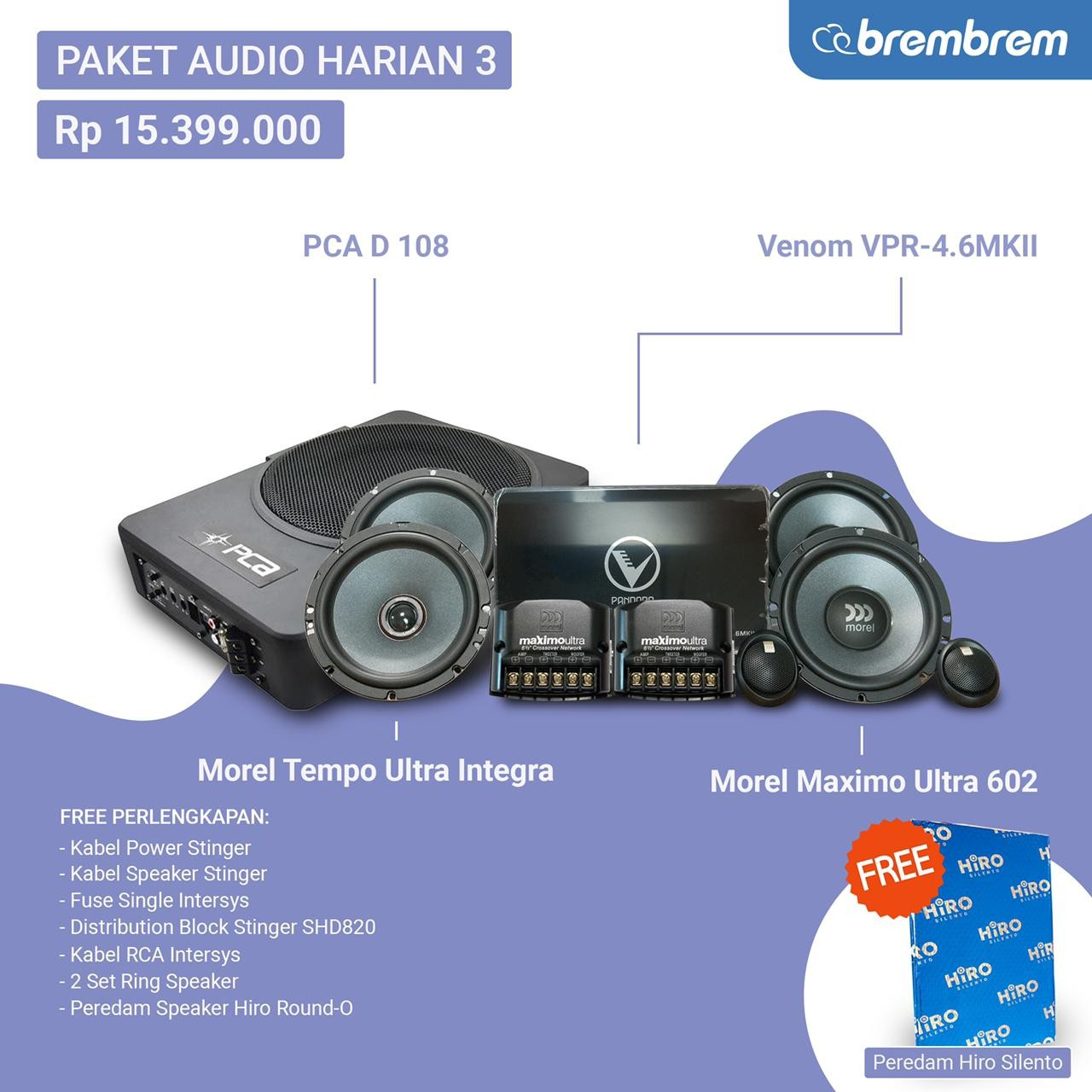 PAKET AUDIO HARIAN 3 - PROMO MENANG BANYAK