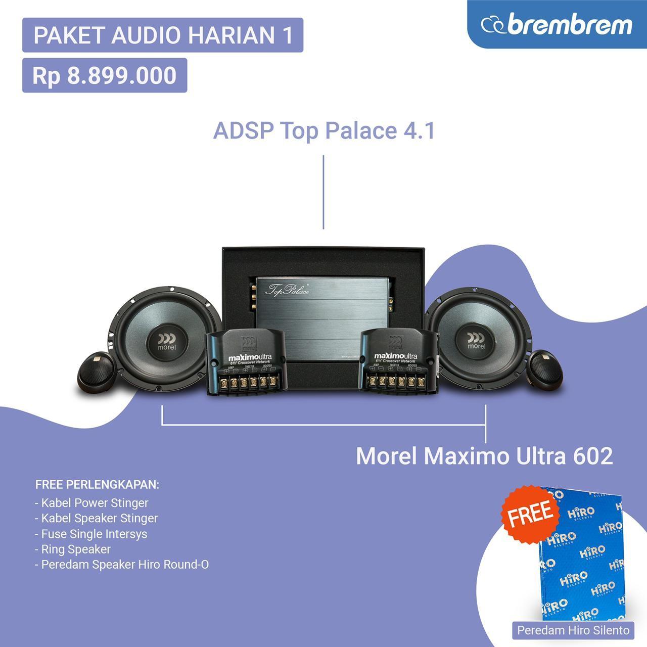 PAKET AUDIO HARIAN 1 - PROMO MENANG BANYAK