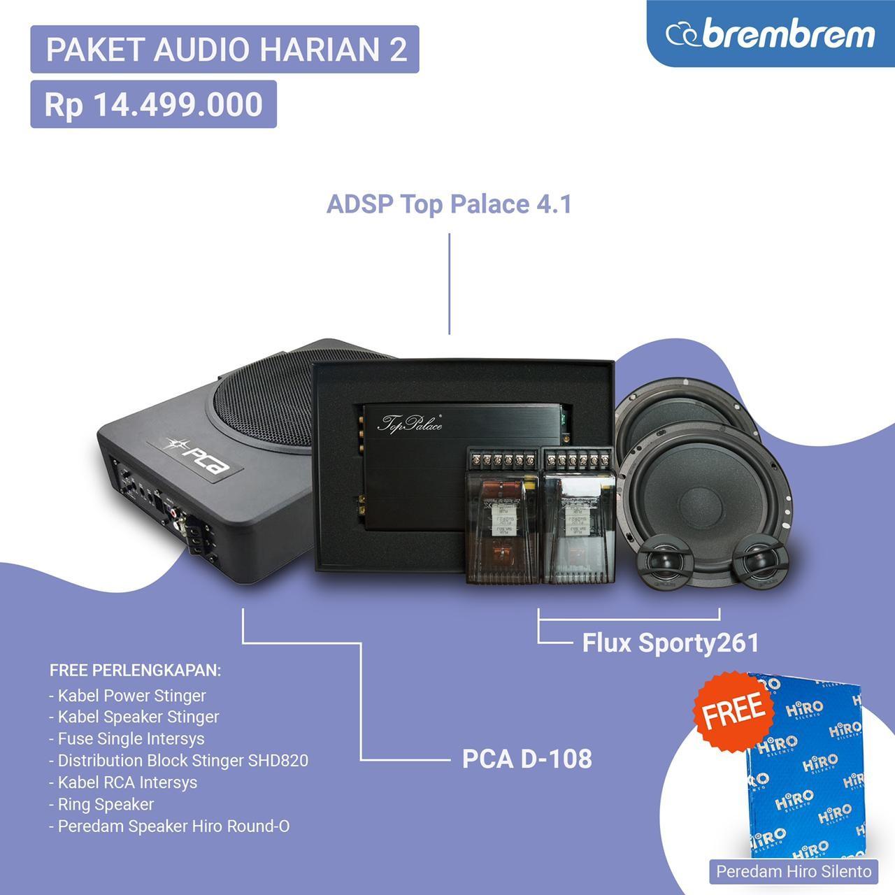 PAKET AUDIO HARIAN 2 - PROMO MENANG BANYAK
