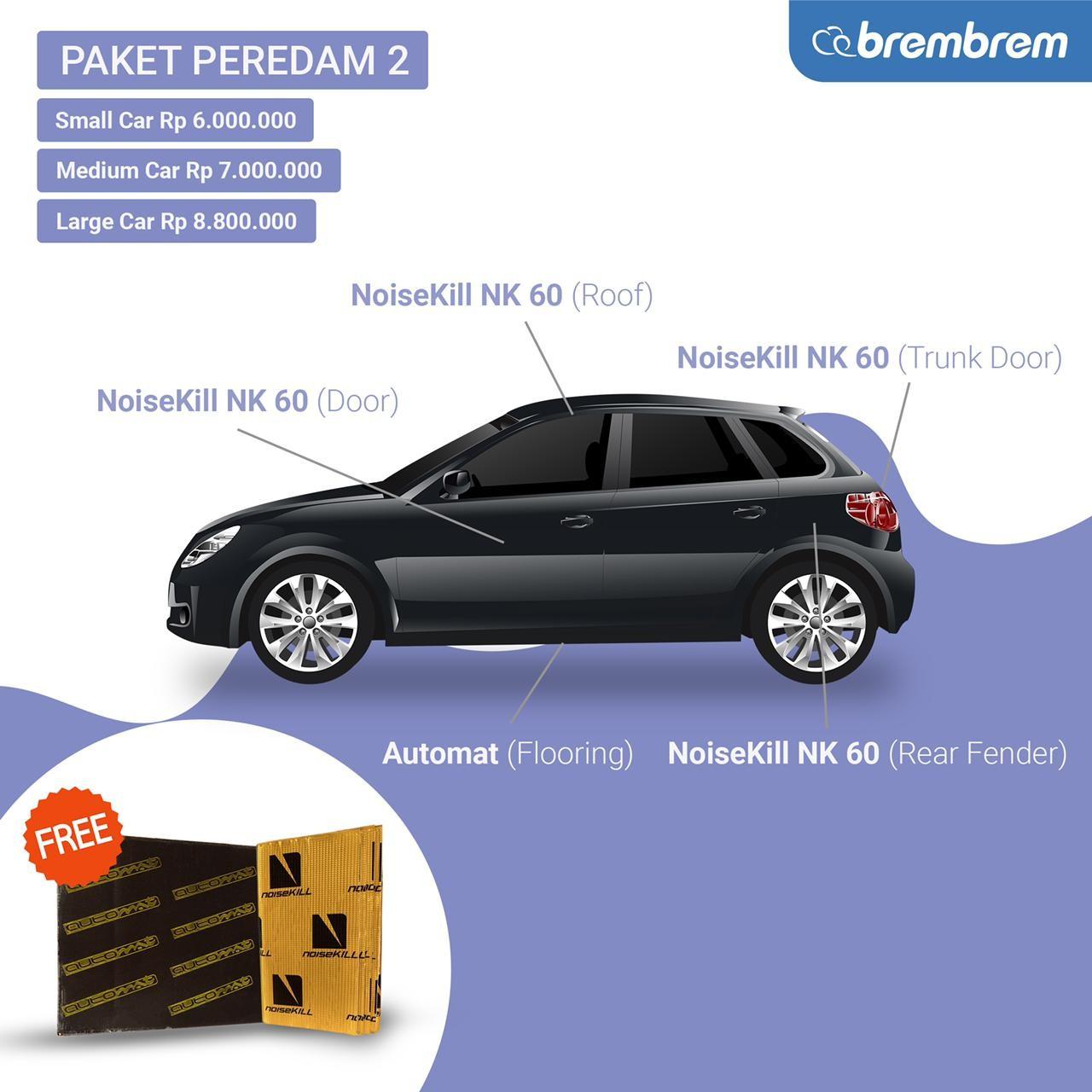 PAKET PEREDAM 2 - PROMO MENANG BANYAK - LARGE CAR