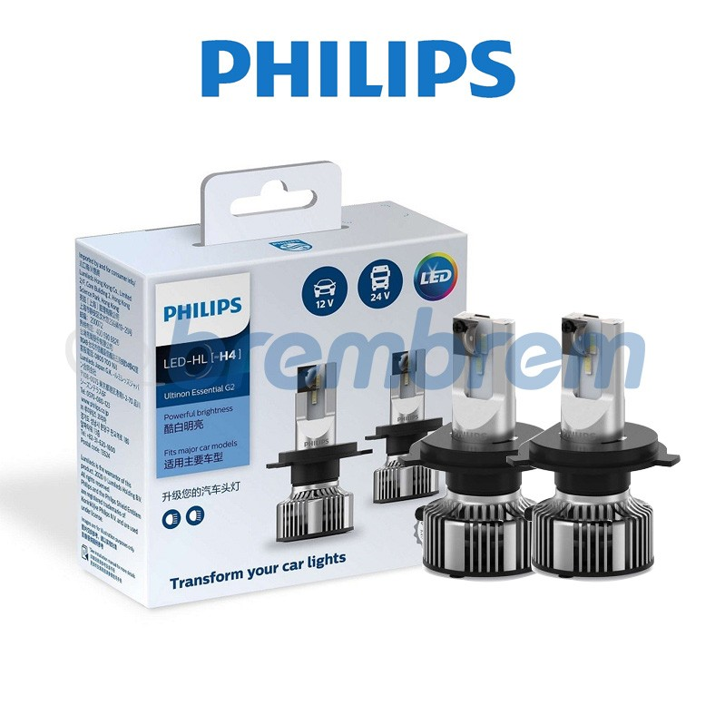 PHILIPS LED ULTINON ESSENTIAL G2 H4 – LAMPU MOBIL LED