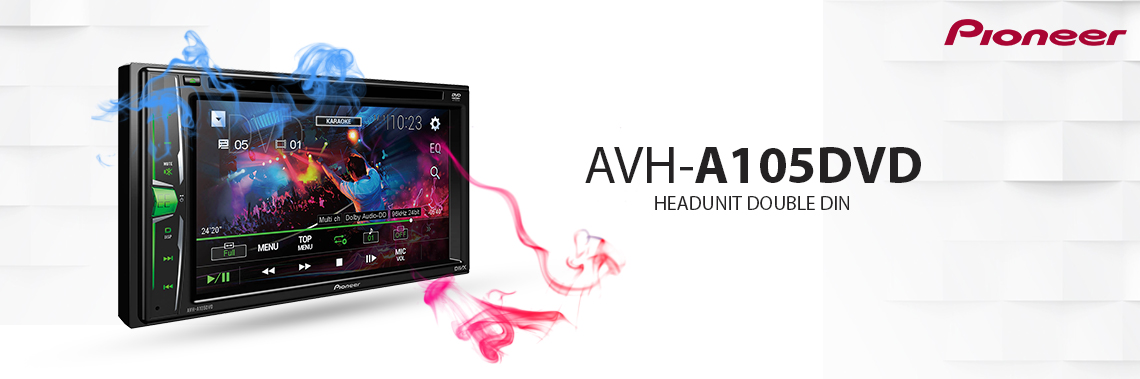 Pioneer AVH-A105DVD