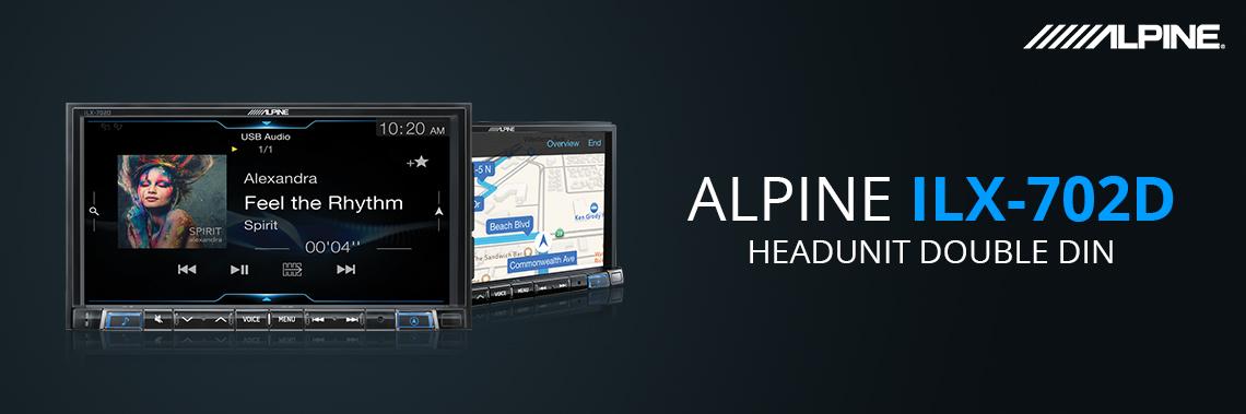 Alpine ILX-702D