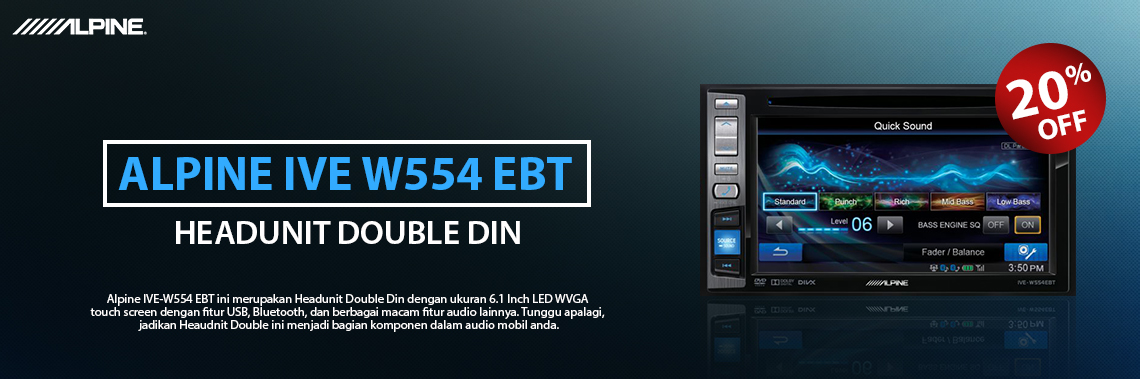 Alpine IVE-W554 EBT
